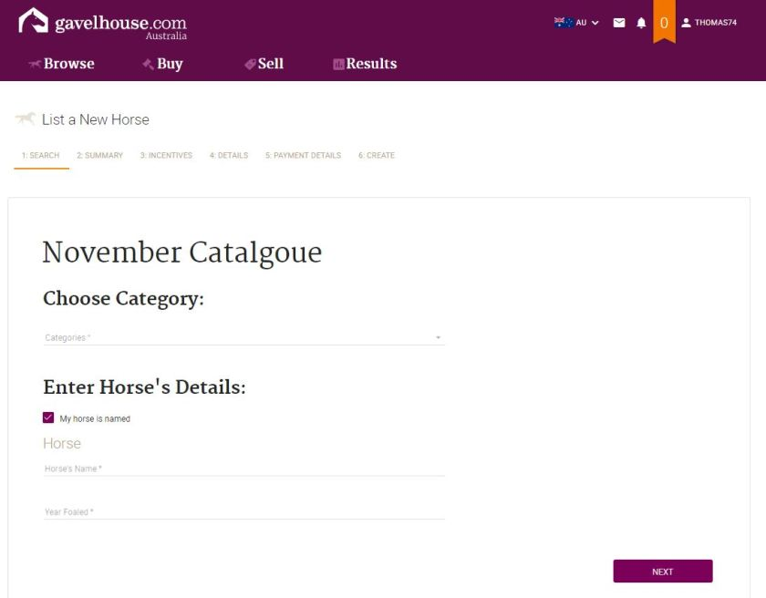 How to list your horse on gavelhouse com – Fortnightly online